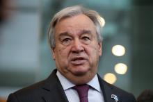 United Nations Secretary-General Antonio Guterres. | Fiona Goodall/Getty Images