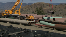 Trans Mountain expansion - File Photo (Image Credit: CFJC Today)