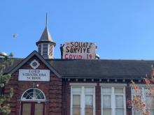 occupation of Strathcona school - Red Braid Alliance for Decolonial Socialism