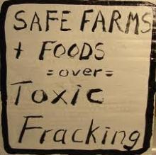 Farms not Fracking