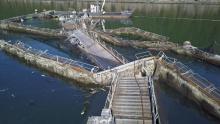 fish farm wreckage