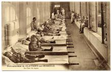 Photo of a French tuberculosis 'preventorium.' We're doing less to protect children from COVID-19. Photo: The Casas-Rodríguez Postcard Collection, Creative Commons licensed.