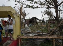 Typhoon Mangkhut devastated the Philippines, bringing more climate-related damage to the vulnerable country. Photo credit: Jes Aznar/Getty Images