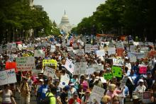 Washington protest - attribution Getty Images
