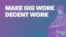 Make Gig Work Decent Work