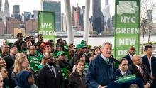 Green New Deal gathering in New York - Drew Angerer / Getty Images
