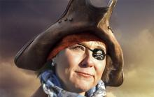 Christy Clark pirate