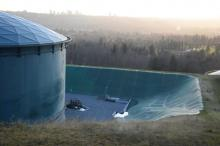 Burnaby Mountain tank farm - Image courtesy of Burnaby Now