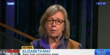 Elizabeth May on CTV News
