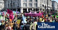 Extinction Rebellion activists cause disruption across London in climate change protests
