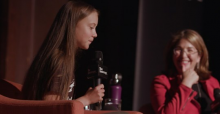 Greta Thunberg and Naoimi Klein