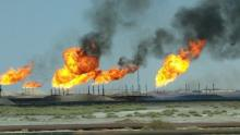Image of gas well flare by World Bank