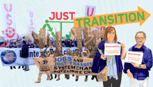 Just transition and jobs