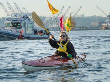 Kayak Protest - Backbone Campaign/Flickr