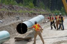 To compensate for pipeline construction disruption, some but not all municipalities along the route will get significant benefits payouts from Kinder Morgan. — Image Credit: Kinder Morgan Canada
