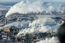 Alberta oilsands. Photograph by Kris Krug. https://kriskrug.co/
