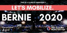 Let's mobilize, Bernie 2020
