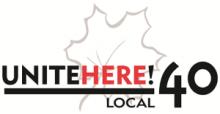 Unite Here local 40 logo