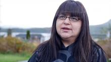 Heiltsuk chief councillour Marilyn Slett says she wants Justin Trudeau to come to Bella Bella to see the aftermath of a diesel spill that occurred on October 13. (Heiltsuk Nation)