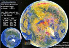 methane levels