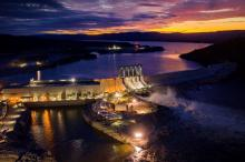 With costs at Muskrat Falls soaring from $7.4 billion to $13.1 billion, Ottawa is offering the province a major cash injection as it struggles to pay for the dam. Photo via Nalcor Energy