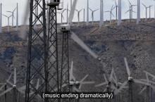 wind turbines - Planet of the Humans