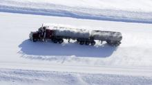 Set on the fragile ice roads of the Northwest Territories, the History Channel reality TV show Ice Road Truckers has been watched by millions in the U.S. and around the world. However, the show has never aired on a Canadian network. ((History Television))