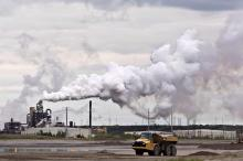 Alberta oil sands. Photo by Canadian Press