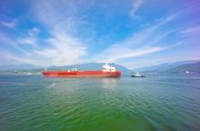 Oil tanker traffic in Burrard Inlet would increase significantly to service an expanded Trans Mountain Pipeline.