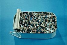 people in a sardine can