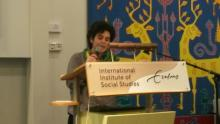 Closing speech by Paula Gioia, the European Youth International Coordination Committee (ICC) member of La Via Campesina, at the International Institute of Social Studies (ISS) colloquium on Global governance/politics, climate justice & agrarian/social justice: linkages and challenges. 4-5