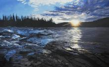 'Peace River' by Fort St. John artist Cindy Vincent
