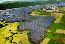 Photovoltaic power station generates electricity for villagers in Leping, Jiangxi, China, on September, 20, 2018. Photo credit: © TPG via ZUMA Press