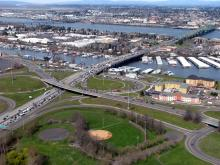 Main image:Portland, Oregon's Marine Drive looking north to Hayden Island.Credit:Washington State Department of Transportation,CCBY-NC-ND2.0