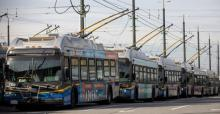 TransLink says if it doesn't receive emergency funding from the federal or provincial governments, there could be unprecedented cuts to local transit services. (Ben Nelms/CBC)