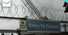 Photo: Shriram Rajagopalan -  US-Canadian Border near Rainbow Bridge