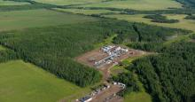 Blueberry territory sits on top of the Montney formation, one of the largest natural gas deposits in the world. The ruling concluded that the province failed to adequately consider the impacts of development on the nation's Treaty Rights. Photo: Garth Lenz / The Narwhal