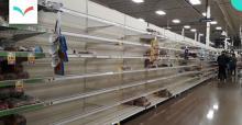 Empty store shelves - Photo: Wonderlane