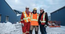Premier John Horgan (left) visits LNG Canada to assess its progress. Credit: Province of B.C. (CC BY-NC-ND 2.0)