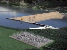 The Site C dam has been approved, but major construction has yet to begin. B.C HYDRO / PNG