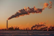 An oilsands facility near Fort McMurray, Alta., in 2012. Photo by Kris Krüg / Flickr