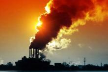 (Image: Smoke sunset via Shutterstock)