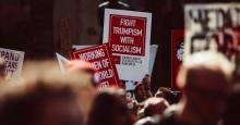 A Gallup poll released Tuesday showed that contrary to popular claims about the 2020 election, 76% of Democrats would vote for a socialist presidential candidate. (Photo: Molly Adams/Flickr/cc)