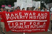 Socialist Alternative protest - Photograph Source: Rwmosgrove – CC BY-SA 3.0