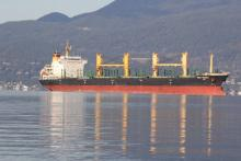 Oil tankers are often seen off the beaches of Spanish Banks, Jericho, Kitsilano, and English Bay. YOLANDE COLE