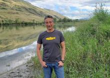 Jason Hwang of the Pacific Salmon Foundation says the cumulative effects of climate change are causing perilous conditions for wild salmon. REID HWANG