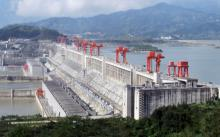 China has the largest hydroelectric dam in the world. Pic: Rehman/Wikimedia