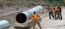 Construction of the Trans Mountain pipeline expansion will cost motorists a lot of money, writes economist Robyn Allan. File photo