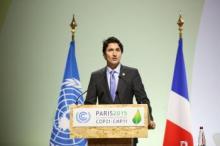 Trudeau in Paris