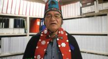Chief Na'moks of the Tsayu Clan says that provincial and federal officials have assumed and presumed authority over Wet'suwet'en territory, even though this has never been ceded by anyone. UNIST'OT'EN CAMP